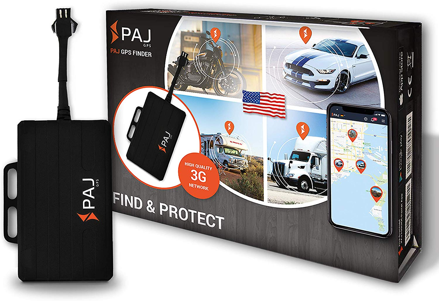 PAJ GPS Tracker for Vehicles